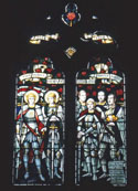 Photo of the Memorial Window, Church of St John the Baptist, Hellidon