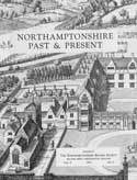 Cover of NP & P showing part of Winstanley's engraving of Rushton Hall and its grounds in 1750