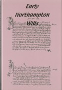 image of the dust jacket of Early Northampton Wills