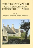 image of the dust jacket of The Pilsgate Manor of the Sacrist of Peterborough Abbey