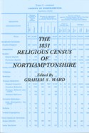image of the cover of The 1851 Religious Census of Northamptonshire