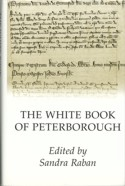 Image of the dust jacket of the White Book of Peterborough