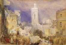 The Northampton Election in December 1830 by J.M.W. Turner (Tate Gallery)